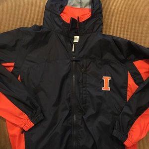 Illinois rain/wind jacket by Columbia size medium